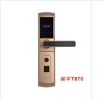 T870指纹密码刷卡锁